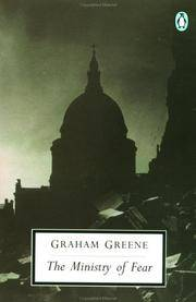 The Ministry of Fear, by Graham Greene