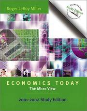Economics Today--The Micro View