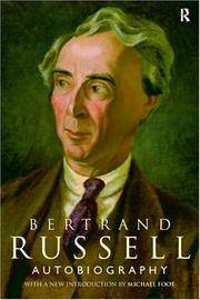 Bertrand Russell - Bibliography and List of Works